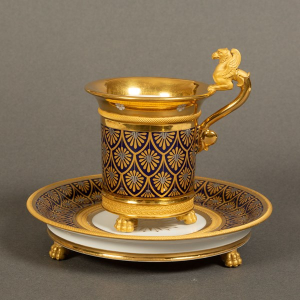 Nast Paris Cup and Saucer