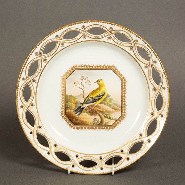 Chamberlains Worcester Cabinet Plate