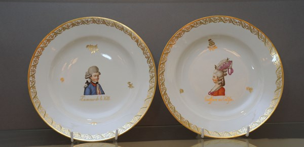A Pair of Vienna Plates