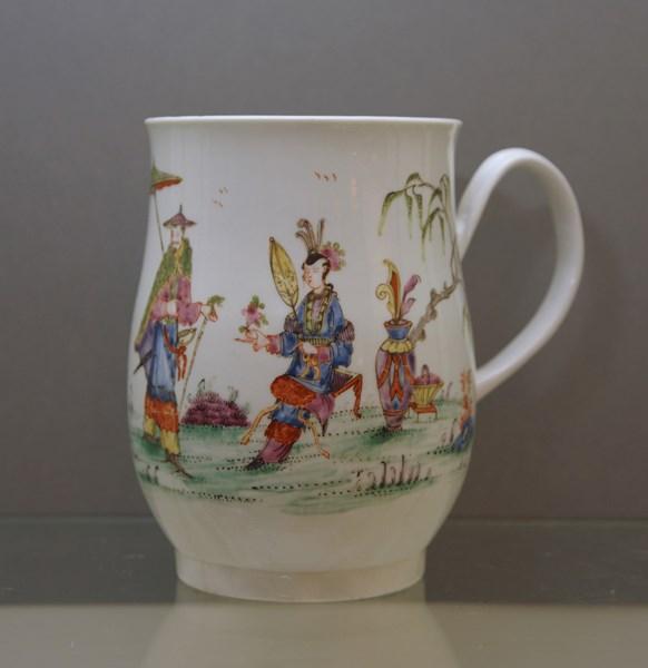 Worcester bell shaped mug