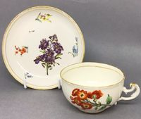 Nymphenburg teacup and Saucer