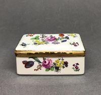 German Porcelain Box