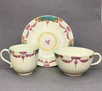 Worcester Trio - Sèvres Style Decoration