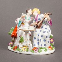 Meissen Chinoiserie Group