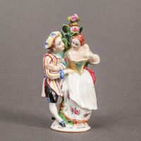 Saint James's Scent Bottle as Two Lovers