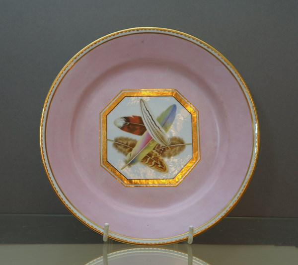 Chamberlain's Worcester cabinet plate