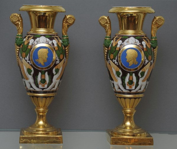 Pair of Paris Vases
