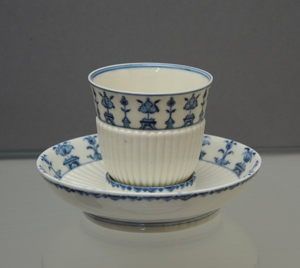 Saint Cloud Beaker and Saucer