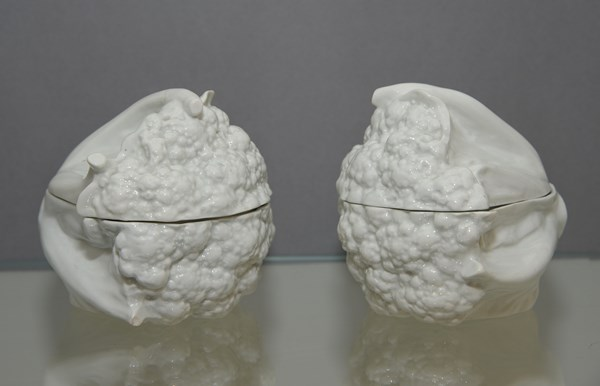 Worcester Cauliflower Tureens