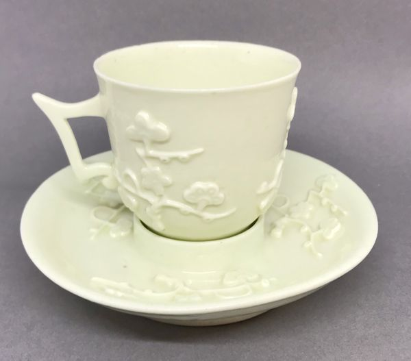 Saint Cloud Coffee Cup and Trembleuse Saucer