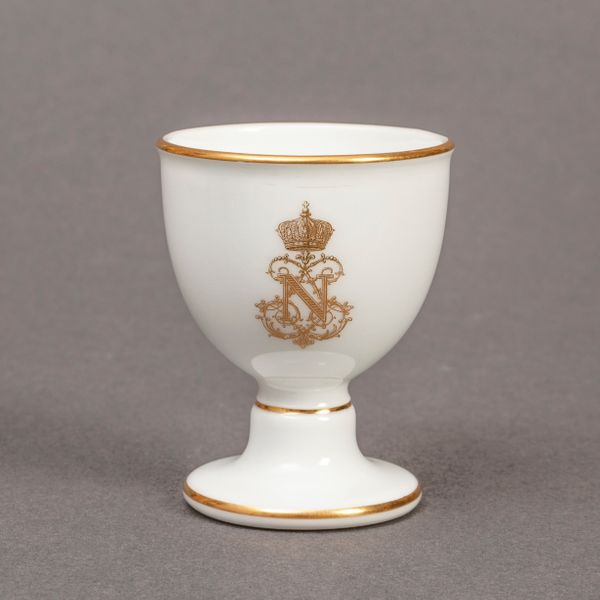 Sèvres Egg Cup from Napoleon III Service