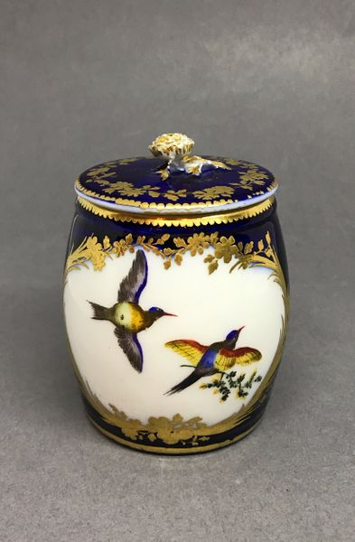 Vincennes Mustard Pot and Cover