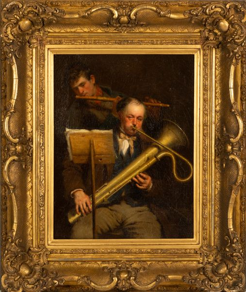 John Morgan - Painting of Musicians