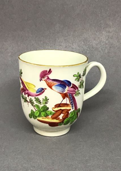 Worcester Coffee Cup and Saucer