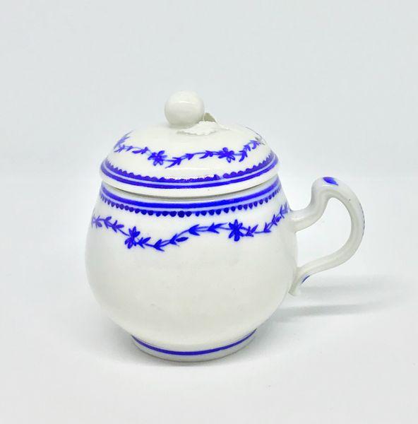 Tournai Pot à Jus or Custard Cup and Cover