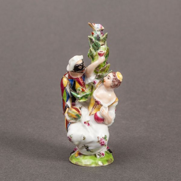 Saint James's Scent Bottle as Harlequin and Columbine