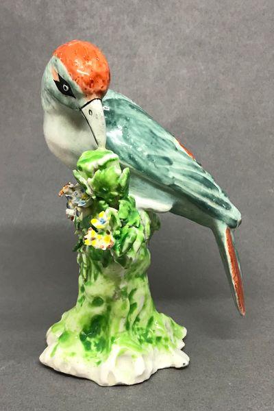 Derby Model of a Woodpecker