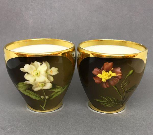Pair of Paris Dagoty Porcelain Cups