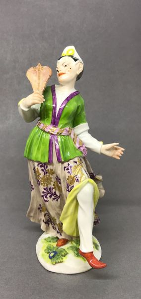 Meissen Figure of an Oriental Actor