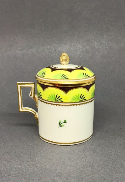 Vienna Pot à Jus or Custard Cup and Cover