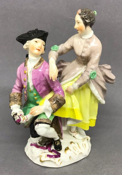 Meissen Group of Ice Skaters