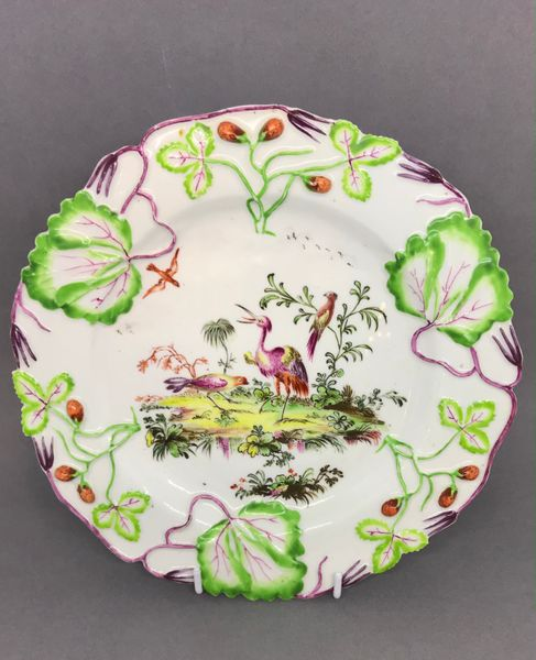 Longton Hall Plate