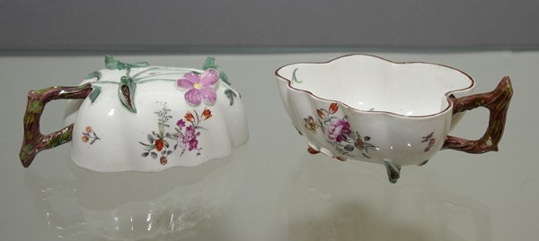 Pair of Hochst Pickle Dishes