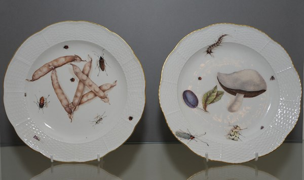 Pair of Meissen Plates