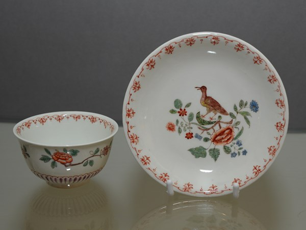 Du Paquier Tea Bowl and Saucer
