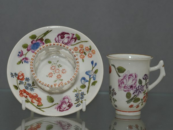 Du Paquier Cup and Saucer
