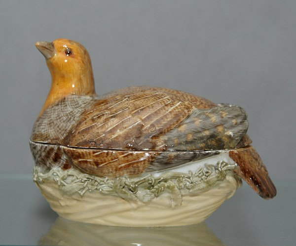 Meissen Partridge Tureen and Cover