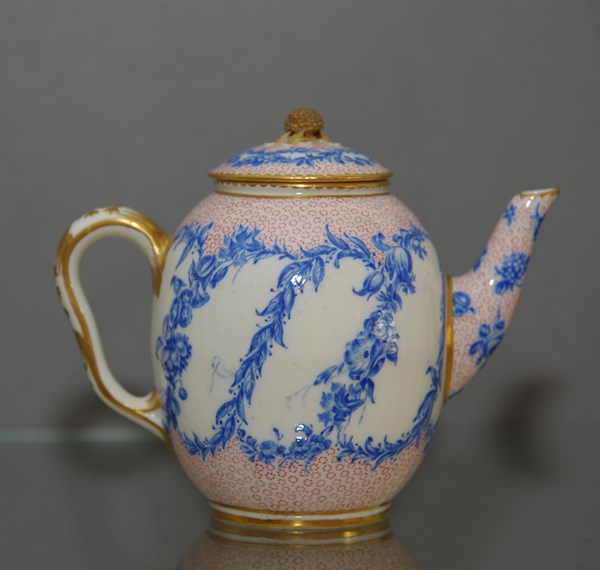 Sevres Teapot and Cover