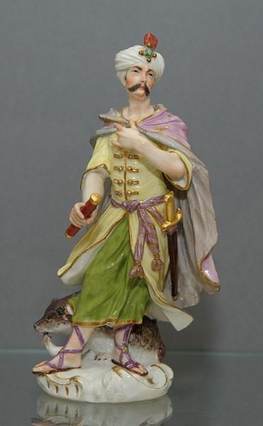Meissen Model of a Turk